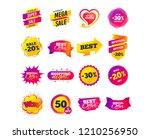 sale banner templates design.... | Shutterstock .eps vector #1210256950