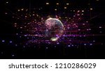 big data visualization with... | Shutterstock . vector #1210286029