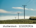 Electrical Power Line Over The...
