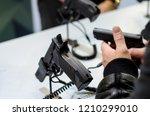 gun display stands | Shutterstock . vector #1210299010