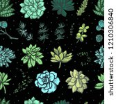 decorative bright color graphic ...   Shutterstock .eps vector #1210306840