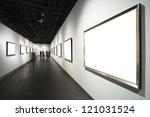 Frames On White Wall In Art...