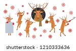 vector illustration set of... | Shutterstock .eps vector #1210333636
