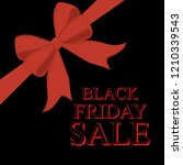 black friday sale illustration... | Shutterstock . vector #1210339543