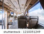 selective focus inside the bus  ... | Shutterstock . vector #1210351249
