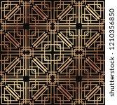 art deco pattern. seamless... | Shutterstock .eps vector #1210356850