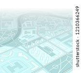 city map navigation  color... | Shutterstock . vector #1210366249