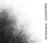 vector monochrome black... | Shutterstock .eps vector #1210367890