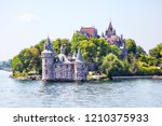 historic boldt castle in the... | Shutterstock . vector #1210375933