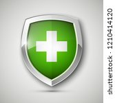 medical health protection... | Shutterstock . vector #1210414120