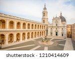 Square Of Loreto  Basilica...