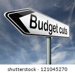 budget cuts reduce costs and...   Shutterstock . vector #121045270