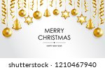 merry christmas and happy new... | Shutterstock .eps vector #1210467940