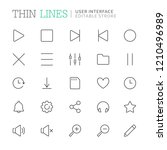 collection of user interface...   Shutterstock .eps vector #1210496989