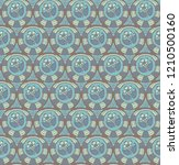 seamless pattern with a...   Shutterstock .eps vector #1210500160