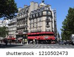 paris  france   may 17  2018 ... | Shutterstock . vector #1210502473