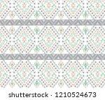 vector geometric  pattern....   Shutterstock .eps vector #1210524673