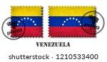 venezuela or venezuelan flag... | Shutterstock .eps vector #1210533400