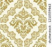 orient vector classic pattern.... | Shutterstock .eps vector #1210559863