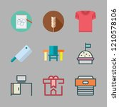top icon set. vector set about... | Shutterstock .eps vector #1210578106
