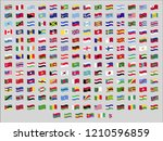 all official national waving... | Shutterstock .eps vector #1210596859