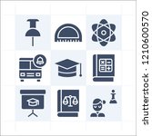 simple set of 9 icons related...   Shutterstock .eps vector #1210600570