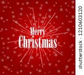 christmas background. white...   Shutterstock .eps vector #1210603120