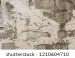 brick texture with scratches... | Shutterstock . vector #1210604710