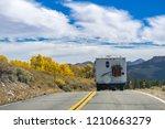 rv travelling through sonora... | Shutterstock . vector #1210663279