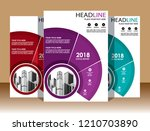 cover brochure layout annual...   Shutterstock .eps vector #1210703890