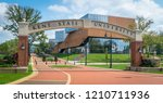 kent  oh   10 7 18  the new... | Shutterstock . vector #1210711936