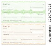 check  cheque  chequebook... | Shutterstock .eps vector #1210717123