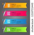 modern paper text box template...   Shutterstock .eps vector #1210721443