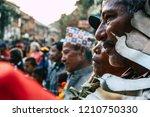 bandipur nepal october 16  2018 ... | Shutterstock . vector #1210750330