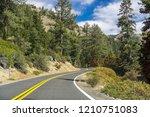 driving through the sierra... | Shutterstock . vector #1210751083