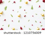 christmas and new year's... | Shutterstock . vector #1210756009