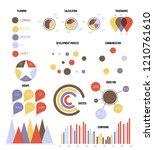 business idea visualisation... | Shutterstock .eps vector #1210761610