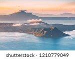 taal volcano in tagaytay ... | Shutterstock . vector #1210779049