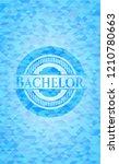 bachelor light blue mosaic... | Shutterstock .eps vector #1210780663