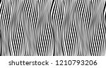 vertical lines with distortions ... | Shutterstock .eps vector #1210793206