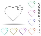 heart icon. elements of medical ...