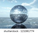 Glass Sphere Computer Generate...