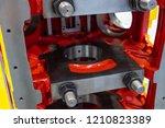 huge internal combustion engine ... | Shutterstock . vector #1210823389