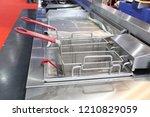 new empty modern professional...   Shutterstock . vector #1210829059