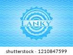 lanky light blue water wave...   Shutterstock .eps vector #1210847599