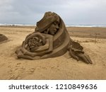 The Beautiful Sand Sculpture On ...