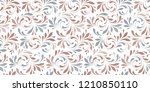 floral seamless background for... | Shutterstock .eps vector #1210850110