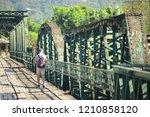 maehongson thailand  19 oct... | Shutterstock . vector #1210858120