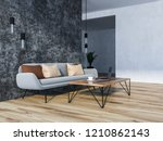 interior of white and gray... | Shutterstock . vector #1210862143