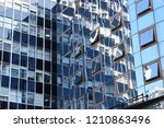 building in the city | Shutterstock . vector #1210863496